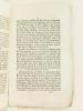 Précis historique sur les désordres arrivés à Nîmes.  [ édition originale ]. Anonyme