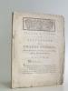 Second Rapport sur les Travaux des Grands Chemins, faits au Directoire du District de La Rochelle, par le Procureur-Syndic. Les 29 & 30 Mai 1791. ...