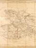 Département du Mayne et Loire, décrété le 19 janvier 1790 par l'Assemblée Nationale, divisé en 8 districts et 99 cantons. [ Carte du Maine et Loire ]. ...