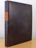 Catalogue de Reliures du XVe au XIXe siècle en vente à la Librairie Gumuchian. Catalogue n° XII. GUMUCHIAN