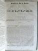 [ Le Siècle ] : Balzac : Une Fille d'Eve - La Femme Abandonnée - La Grenadière - Le Message - Le Lys dans la Vallée - Léon Gozlan : Le notaire de ...