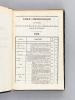 Recueil des Actes administratifs du Département de la Gironde. 1832 n° 401 à 435. Collectif