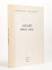 Amare doloris amor  [ Livre dédicacé par l'auteur - édition originale ]. COURANT, Maurice