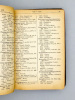 Almanach Charrive à l'usage du Commerce de l'Industrie - France et Etranger. Collectif
