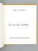 Les ors des champs...  [ Livre dédicacé par l'auteur ]. Mc Cloughlin, Mary