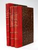 [ Traité de Chimie Minérale ] Epreuves corrigées de la main d'Henri Moissan, Prix Nobel de Chimie 1906. 3 Volumes : Vol. I : Soufre - Mercure ; Vol. ...