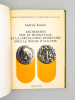 Recherches sur le monnayage et la circulation monétaire sous le règne d'Auguste.. Andrzej KUNISZ