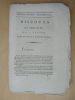 Discours sur l'Affaire du Roi, par J. Pétion.. PETION, J. [ Pétion de Villeneuve, Jérôme (1756-1794) ]