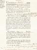 Adjudication du bail-à-ferme des Biens des Emigrés : vente aux enchères le 17 messidor 1793, an second de la République Française d'un Moulin à vent ...