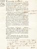 Adjudication du bail-à-ferme des Biens des Emigrés : vente aux enchères le 17 messidor 1793, an second de la République Française du château de Gariée ...