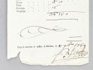 Expédition du Navire Le Bienfaisant, Capitaine le Sieur Rémond Bernard & venant de Bordeaux chargé de tabac allant à Blaye chargé de [ illisible ], ...