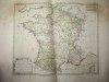 Les 39 Gouvernemens Généraux et Militaires dans leur Vraye étendue actuelle et divisés en leurs principales parties avec les petits Etats qui y sont ...