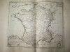 Départemens de l'Artillerie et du Génie avec leurs Ecoles ; les Places fortes du Royaume, et les Places frontières des Etats circonvoisins [ Carte ...