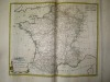 """Départemens de la Marine, de ses Intendans et Commissaires Généraux [ Carte extraite de l'atlas """"La France considérée sous tous les principaux points ..."""