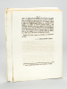 Loi relative à la Solde des Gens de guerre donnée à Paris le 29 avril 1792 [ On joint : ] Décret de la Convention Nationale, du 7 Mai 1793, l'An ...