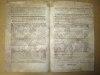 Extrait des Lettres Patentes du Roy, pour le Terrier du Domaine de la Prévôté d'entre deux Mers du 18 Mars 1749 [ Pièce pré-imprimée complétée et ...