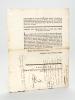 Extrait des Lettres Patentes du Conseil d'Etat. Lettres Patentes sur Arrest, Qui ordonne que les Peaux tannées & apprêtées seront marquées d'une ...