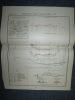 Carte : Organisation du Champ de Bataille de Zewin [ Arménie ] 1878 . Collectif