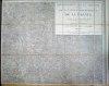 Carte de 1858 au format 72 x 87 cm : Sud Charente (Jonzac, Barbezieux, Montendre) Echelle 1/80000. Collectif