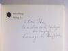 Aufsätze zur Linguistik und Poetik. Herausgegeben und eingeleitet von Wolfgang Raible. Sammlung dialog. [ signed by the author ]. JAKOBSON, Roman