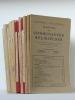 """Museum Lessianum. Section Théologique. Revue des Communautés Religieuses. De 1925 à Janvier-Février 1940 (16 Années de la """"Revue des Communautés ..."""