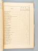 Geologica Hungarica. Fasciculi Instituti Geologici Hungariae. Series Geologica. Tomus 9 1-320 - Tabulae I - XXII, Tabellae I-III : L'Eocène ...