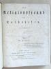 Der Religionsfreund für Katholiken. 1827. Sechster Jahrgang. II Band. VII bis XII Heft. Julius bis December.. BENKERT, Dr.