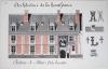 Architecture de la Renaissance. Château de Blois. Aile Louis XII [ Belle aquarelle originale ]. BONNET, J.