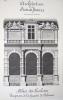 Architecture de la Renaissance. Palais des Tuileries. Fragment de la façade de Delorme [ Beau lavis original ]. BONNET, J.
