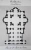 Architecture de la Renaissance. Coupole de la Basilique Saint-Pierre de Rome [ Beau lavis original ] On joint : Plan de St-Pierre de Rome. BONNET, J.