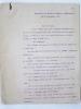 """Importante Lettre signée du Général Percin datée du 25 septembre 1914 : le général Percin expose sa justification face """"aux bruits extraordinaires qui ..."""