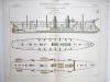 Aide-Mémoire d'Artillerie Navale. Planches. 2e Livraison 1879 (Chapitre VI : Renseignements sur les navires) : Planche 26 : Croiseurs de 1ère Classe. ...