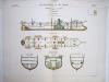 Aide-Mémoire d'Artillerie Navale. Planches. 2e Livraison 1879 (Chapitre VI : Renseignements sur les navires) : Planche 31 : Croiseurs de 2ème Classe. ...