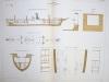 Aide-Mémoire d'Artillerie Navale. Planches. 2e Livraison 1879 (Chapitre VI : Renseignements sur les navires) : Planche 39 : Avisos. Le ...