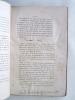 Etudes sur la Vie de Sénèque. [ Exemplaire de l'auteur annoté et corrigé de sa main ]. HOCHART, Polydore