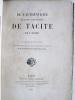De l'Authenticité des Annales et des Histoires de Tacite. [ Exemplaire de l'auteur annoté et corrigé de sa main ]. HOCHART, Polydore