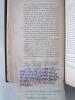 Nouvelles Considérations au sujet des Annales et des Histoires de Tacite. [ Exemplaire de l'auteur annoté et corrigé de sa main ]. HOCHART, Polydore