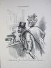 Idylles Modernes. Suite de lithographies par Henri Boutet.. BOUTET, Henri