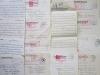 [ Correspondance datant de la seconde guerre, d'un prisonnier français à sa famille vivant à Captieux, près de Langon, Gironde ] Lot de 54 lettres de ...