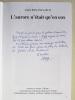 """L'aurore n'était qu'en eux. Annexe au roman """"Moha"""" concernant dix-sept jeunes Résistants fusillés à Châteaubriant,  à Nantes, au Mont-Valérien et à ..."""