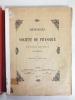 Etudes sur les Rhizopodes d'eau douce. . PENARD, Eugène (1855-1954)