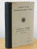 Journal of The Photomicrographic Society. Symposium Number with Proceedings of the Society  1927-1930. Collectif ; Photomicrographic Society