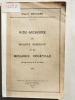 Aide-mémoire de biologie générale et de biologie végétale. Programme P. C. B. 1934. CHOUARD, Pierre (1903-1983)