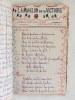 Carnet de Chansons et de Monologues [ Manuscrit commencé le 8 Février 1919 ] Lune Jolie - Martha - Pupée Jolie - L'Embuscade - La Terre Nationale - Le ...