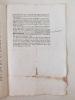 Instruction pour Mrs. les Commissaires du Roy qui seront nommés par M. le Duc de Duras, Commandant en Chef dans la Province de Guienne, pour faire ...