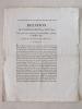 Relation de l'Anniversaire du 12 Mars 1814, tel qu'il a été célébré par les Bordelais, à Paris, le 12 Mars 1817 (Extrait de la Quotidienne du 15 mars ...