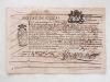 Bureau de Viviers. J'ay reçû des Habitans de Saint Montant [ Saint Montan ] par les mains de Laurans Coulomboy Consul la somme de 600 livres 9 sols et ...