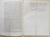 """Division Criminelle. Circulaire N° 433. Bordeaux, le 29 Novembre 1815. """"A Messieurs les Juges de Paix, Maires et Adjoints de Maire du ressort de la ..."""