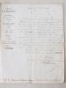 [ Lettre signée du Ministre Secrétaire d'Etat de l'Agriculture et du Commerce, adressée le 24 Septembre 1846, à M. le Baron de Chabaud Latour, Député ...