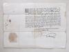 [ Pièce manuscrite datée du 5 septembre 1682, rédigée au nom de l'évêque de Lavaur, Mgr. Charles Le Goux de la Berchère : dispense de charges accordée ...